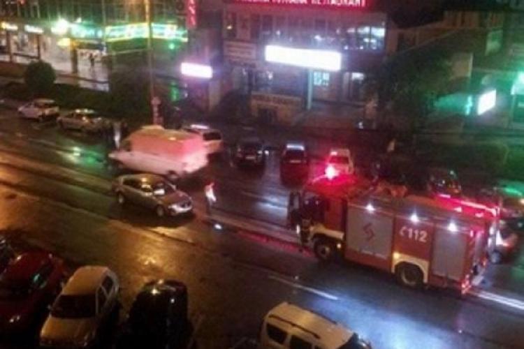 Accident în Mănăștur! Un șofer BEAT a avariat patru mașini. Pagubele sunt de 110.000 de lei - FOTO