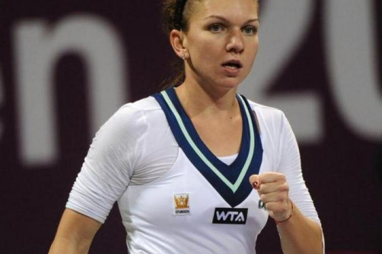"""Victorie fără drept de apel pentru Simona Halep! A """"zburat"""" în turul următor al turneului de la Roma"""