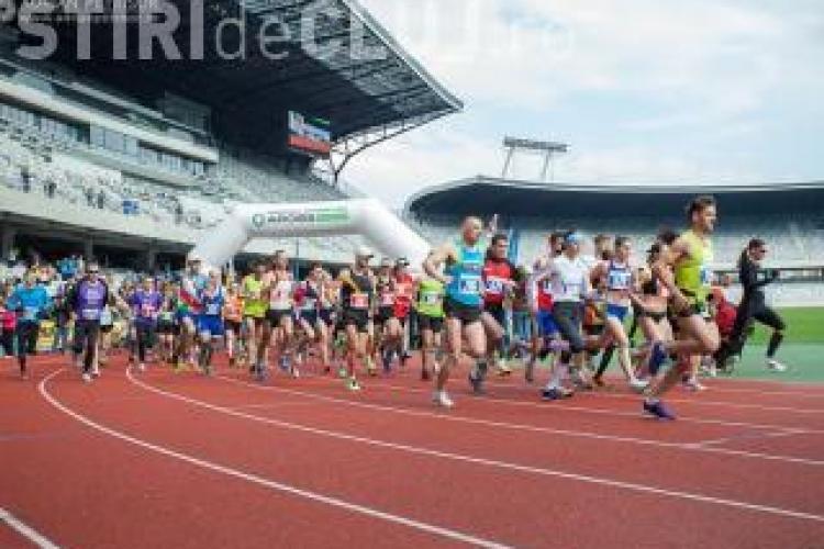 Peste 20 de străzi vor fi închise în acest weekend din cauza Maratonului de la Cluj