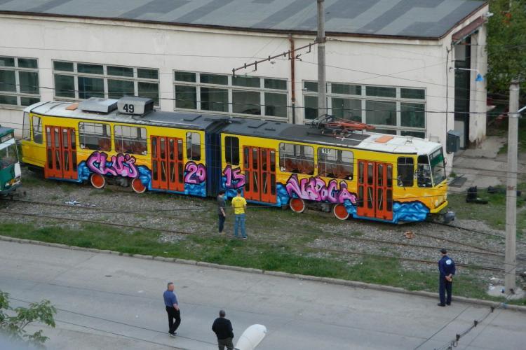 Tramvaiul Cluj-Napoca 2015 Capitala Europeana a Tineretului - FOTO