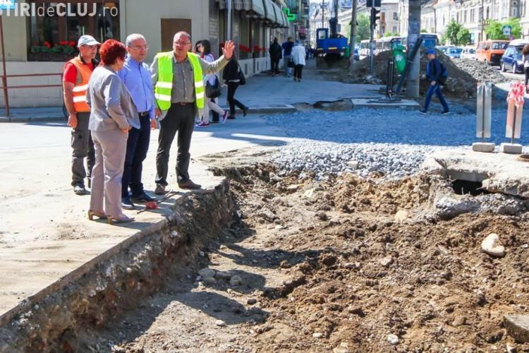 Pe strada Horea, DOREL de la Apă a montat o conductă SPARTĂ. Cu cât s-au întârziat lucrările?