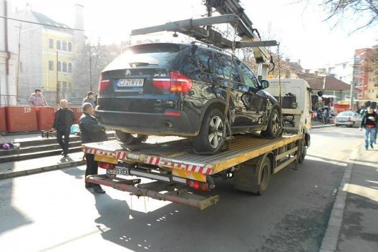 Cât timp se mai RIDICĂ la Cluj-Napoca mașinile. Citește explicațiile lui Ion Pantelimon, șeful RADP Cluj