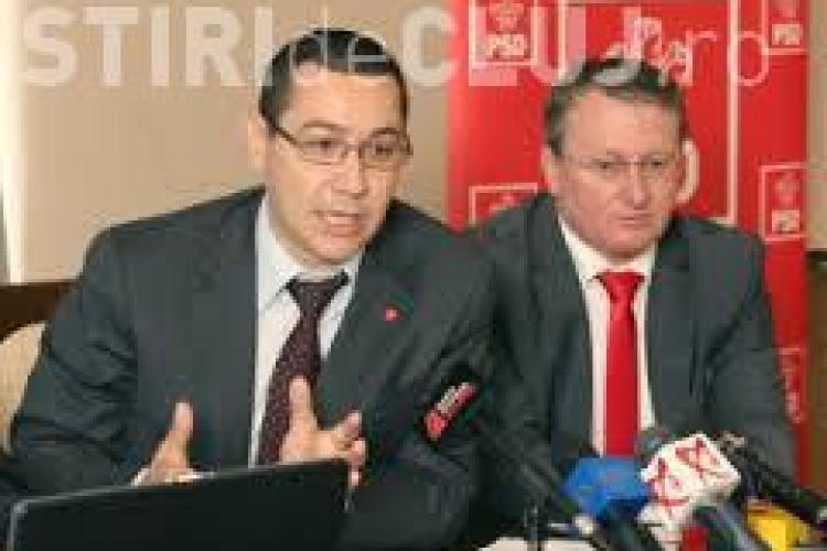 Victor Ponta este susținut de PSD Cluj: Ne întoarcem în epoca proceselor politice