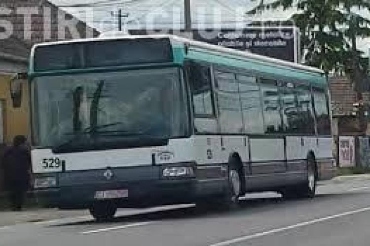 Două linii de autobuz care circulă pe strada Horea vor fi deviate temporar din cauza lucrărilor