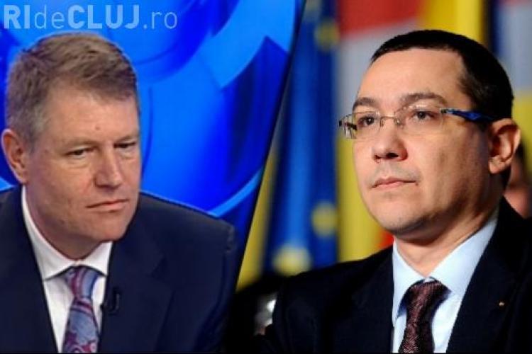 Klaus Iohannis îi cere iarăși demisia lui Victor Ponta: Parlamentul s-a transformat în scut de protecţie