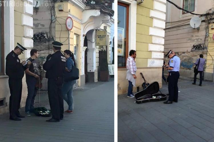 Chitaristul legitimat de Poliție pe Eroilor a POVESTIT ce s-a întâmplat. Credeți că e un ABUZ? - VIDEO