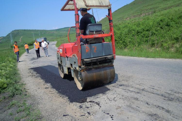 Seplecan propune un credit din care să fie asfaltat tot județul. Clujul e depășit de județele din jur