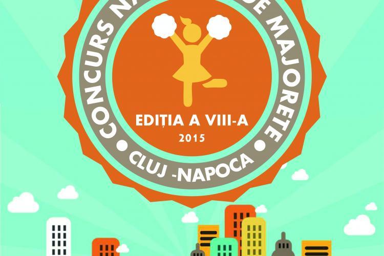 Concursul Național de Majorete se desfășoară la Cluj, săptămâna viitoare