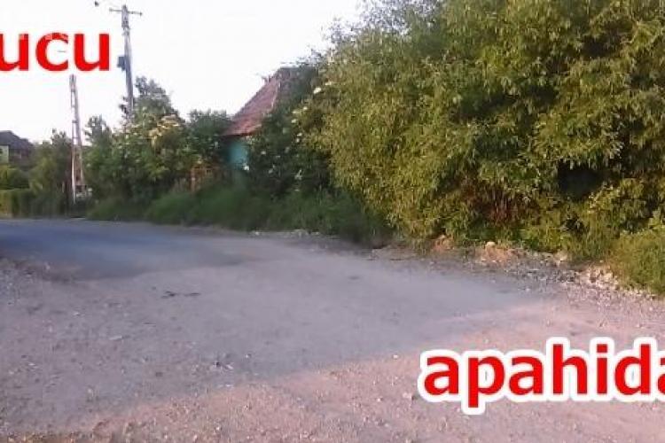 Cum se face de RUȘINE comuna Apahida! Drumul neputinței - FOTO