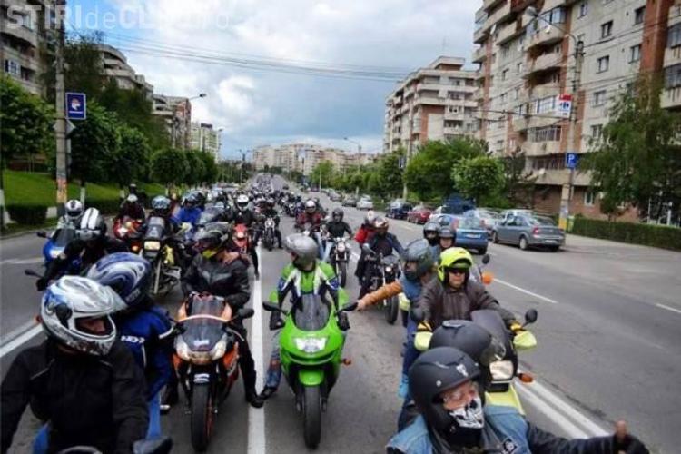 CLUJ BIKE FEST 2015: Mii de motocicliști vin la Cluj. PROGRAM, CONCERTE și PREMII o motocicletă Suzuki GSX-F 600