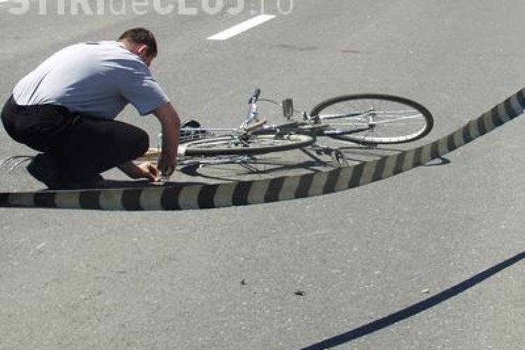 Accident mortal la ieșire din Cluj-Napoca! Un biciclist a fost spulberat. Accidentul are multe semne de întrebare