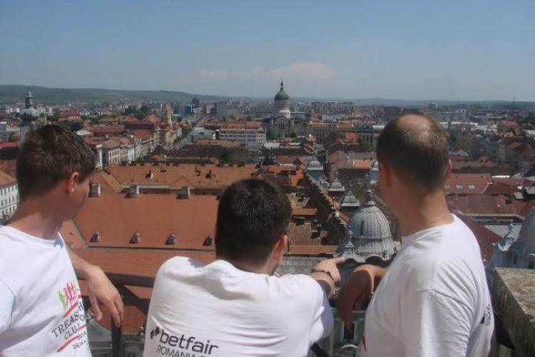 Treasure Hunt în cadrul Zilelor Clujului 2015
