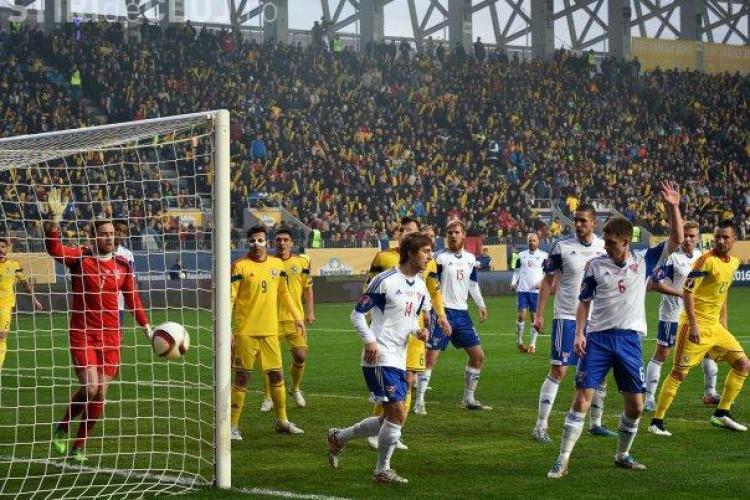 FRF a fost sancționată dur de UEFA din cauza suporterilor rasiști. Au aruncat cu toțe la meciul dintre ROmânia și Insulele Feroe