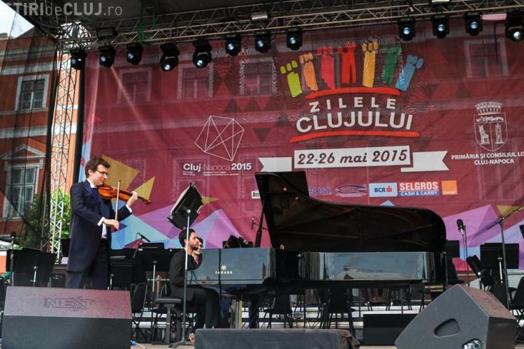 ZILELE CLUJULUI 2015: Vioara Stradivarius Elder pe scena Zilelor Clujului - FOTO
