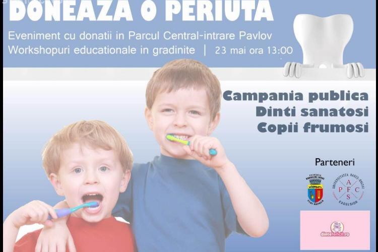 Clujenii sunt chemați să doneze periuțe de dinți NEFOLOSITE pentru orfani