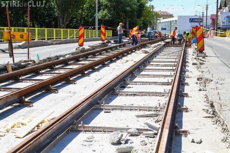 Se reia circulația tramvaielor pe podul Nădaș. Vezi de cand