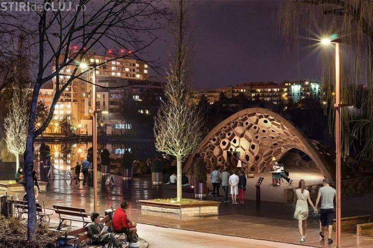 Inaugurarea Scenei Verzi, de la Iulius Park, amânată din cauza vremii. Vezi când va avea loc evenimentul
