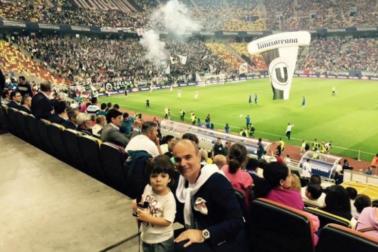 Ce a scris Rareș Bogdan după înfrângerea U Cluj, în finala Cupei: E o lecție pentru toți