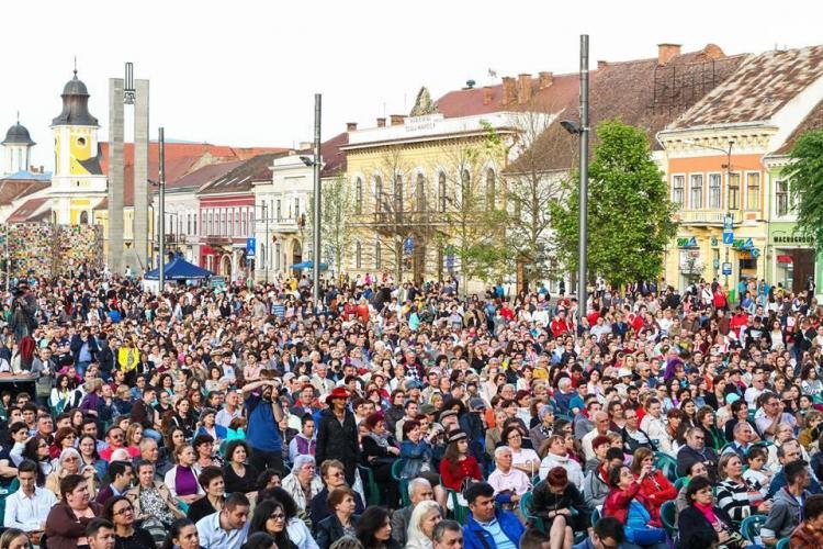 ZILELE CLUJULUI 2015: Succes total la Gala Operelor. 10.000 de clujeni au asistat - FOTO