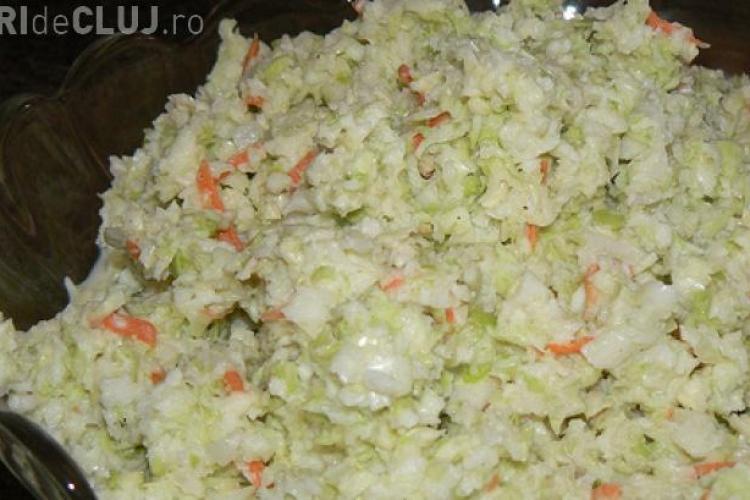 REȚETA salatei coleslaw de la KFC. Un angajat a făcut totul public
