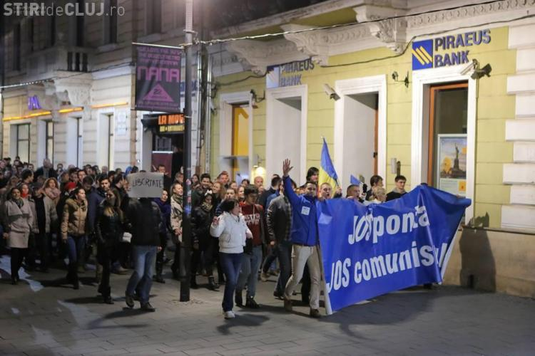Protest Anti - Ponta în Piața Unirii