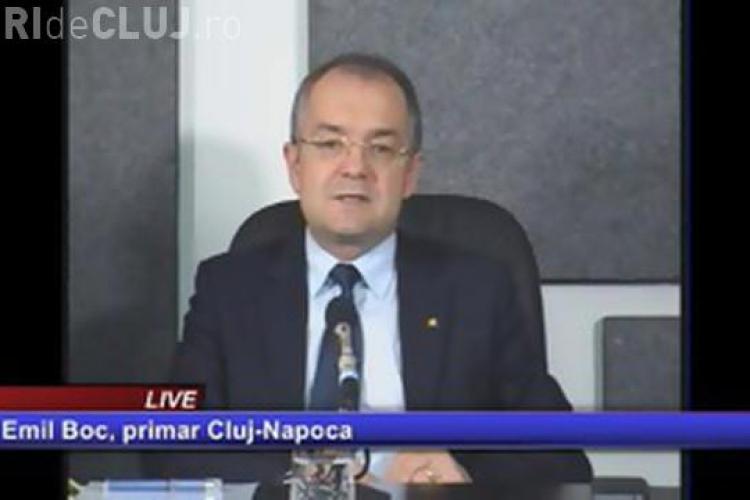Emil Boc a fost INVITAT  la emisiunea Știri de Cluj LIVE! Vezi AICI emisiunea VIDEO