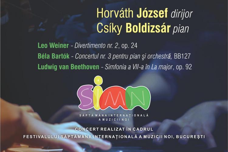 Filarmonica Transilvania: Concert simfonic, sub bagheta dirijorului Horváth József